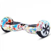 Гироскутер Smart Balance Wheel 6.5 Белое граффити